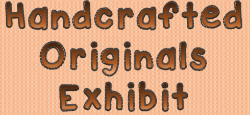 October is the month to show off your talent.  This year our textile exhibit has been expanded to include everything handcrafted.  We will be accepting the usual textiles, and will add handicrafts and other handmade items to show it off at our annual exhibit.  Contact Eunice or Stacey for details.