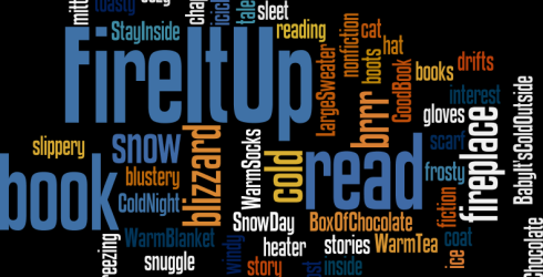 """The adult winter reading program """"Fire It Up"""" is now underway. Register today and beginreading. Turn in what you have read for prizes! Prizes will be awarded weekly."""